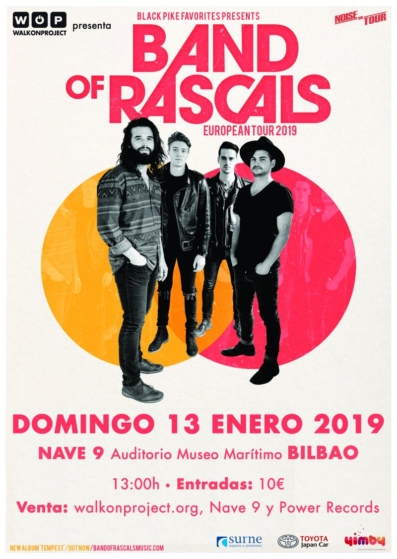 Band Of Rascals - Poster sin fechas