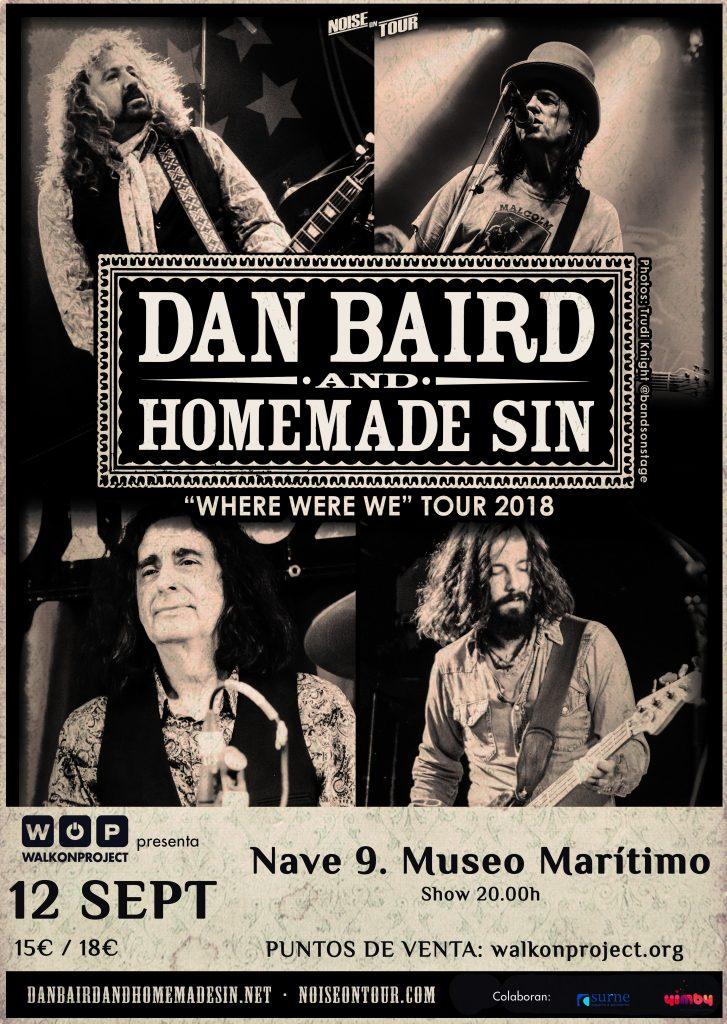 Dan Baird poster