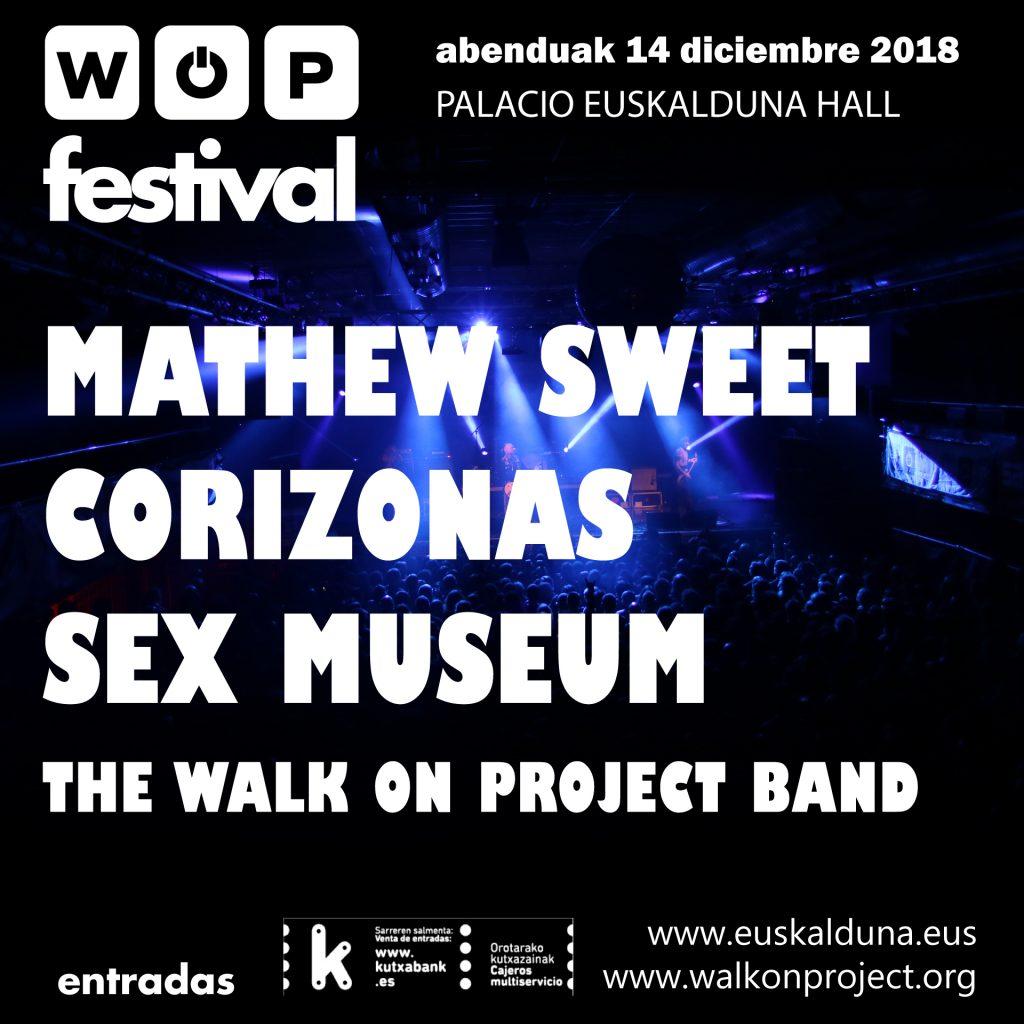 Cartel WOP Festival 2018 Cuadrado
